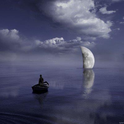 luna sumergida