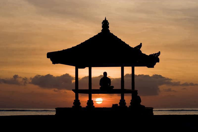 meditation over the sun
